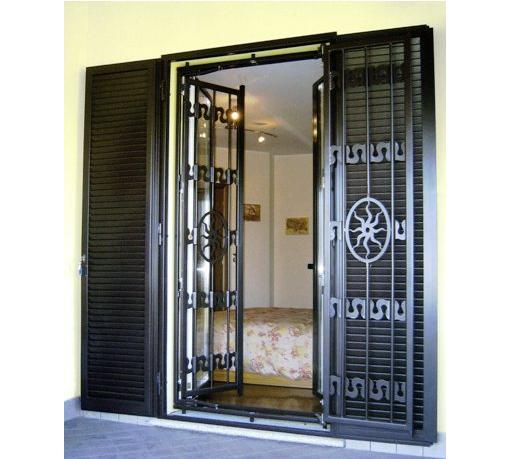 Sabo serramenti realizzazione inferriate inferriate - Inferriate per finestre milano ...
